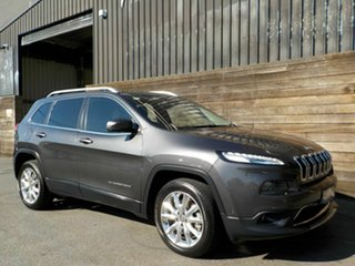 2016 Jeep Cherokee KL MY16 Limited Grey 9 Speed Sports Automatic Wagon.