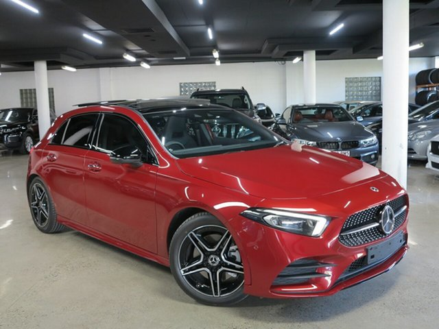 Used Mercedes-Benz A-Class W177 801+051MY A250 DCT 4MATIC Albion, 2021 Mercedes-Benz A-Class W177 801+051MY A250 DCT 4MATIC Red 7 Speed Sports Automatic Dual Clutch