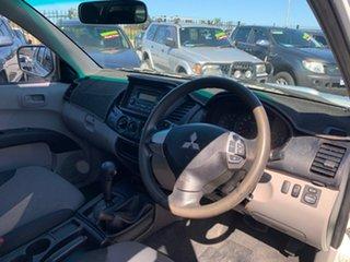 2012 Mitsubishi Triton MN MY12 GLX (4x4) White 4 Speed Automatic 4x4 Double Cab Utility