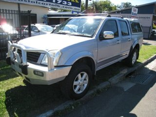 2003 Holden Rodeo RA LT (4x4) Blue 4 Speed Automatic Crew Cab Pickup.