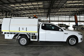 2016 Ford Falcon FG X (LPi) Winter White 6 Speed Automatic Cab Chassis