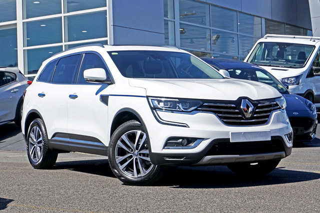 Used Renault Koleos HZG Intens X-tronic Springwood, 2019 Renault Koleos HZG Intens X-tronic White 1 Speed Constant Variable Wagon