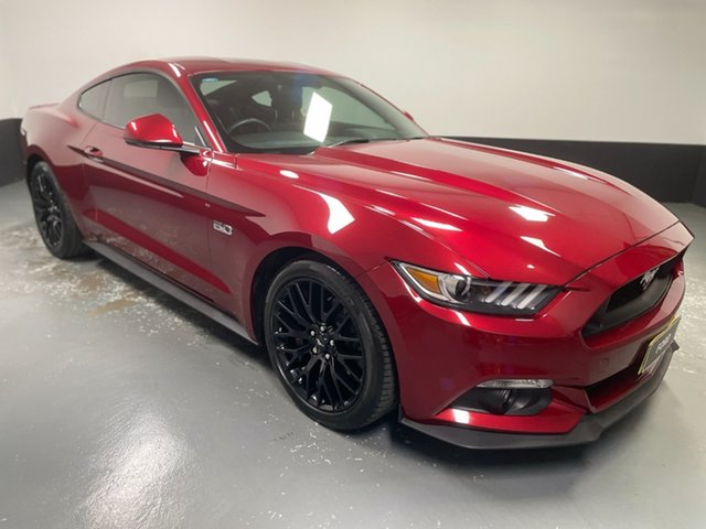 Used Ford Mustang FM 2017MY GT Fastback Cardiff, 2016 Ford Mustang FM 2017MY GT Fastback Ruby Red 6 Speed Manual Fastback
