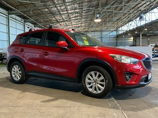 2013 Mazda CX-5 KE1021 Maxx SKYACTIV-Drive AWD Sport Red 6 Speed Sports Automatic Wagon.