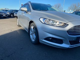 2016 Ford Mondeo MD Ambiente Silver, Chrome 6 Speed Sports Automatic Dual Clutch Wagon.