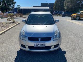 2009 Suzuki Swift RS415 Silver 4 Speed Automatic Hatchback.