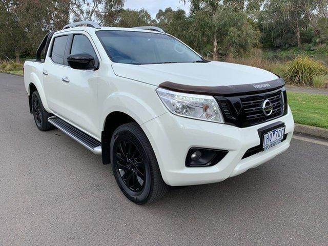 Used Nissan Navara D23 ST-X Geelong, 2016 Nissan Navara D23 ST-X White Sports Automatic Utility