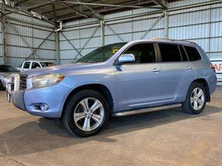 2008 Toyota Kluger GSU40R KX-S 2WD Blue 5 Speed Sports Automatic Wagon.