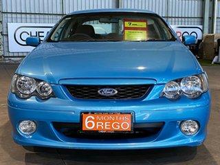 2004 Ford Falcon BA Mk II XR6 Blue 4 Speed Sports Automatic Sedan