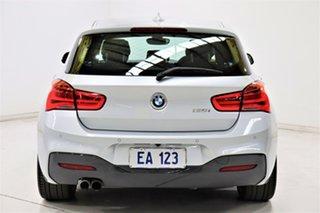 2018 BMW 1 Series F20 LCI-2 125i M Sport Silver 8 Speed Sports Automatic Hatchback