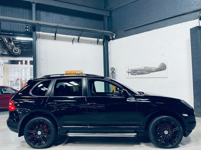 Used Porsche Cayenne 9PA MY10 Diesel Port Melbourne, 2009 Porsche Cayenne 9PA MY10 Diesel Black 6 Speed Sports Automatic Wagon