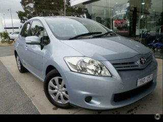 2010 Toyota Corolla ZRE152R MY11 Ascent Shimmer 6 Speed Manual Hatchback.