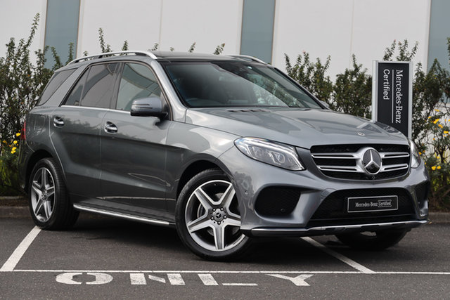 Certified Pre-Owned Mercedes-Benz GLE-Class W166 MY808+058 GLE250 d 9G-Tronic 4MATIC Mulgrave, 2018 Mercedes-Benz GLE-Class W166 MY808+058 GLE250 d 9G-Tronic 4MATIC Selenite Grey 9 Speed