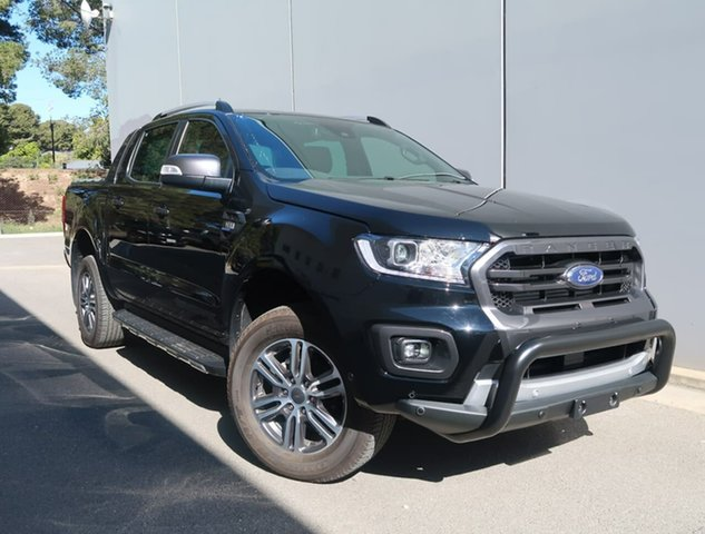 Used Ford Ranger PX MkIII 2020.75MY Wildtrak Reynella, 2020 Ford Ranger PX MkIII 2020.75MY Wildtrak Black 6 Speed Sports Automatic Double Cab Pick Up