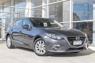 2015 Mazda 3 BM5478 Maxx SKYACTIV-Drive Grey 6 Speed Sports Automatic Hatchback.