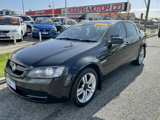 Used Holden Commodore VE Omega Victoria Park, 2006 Holden Commodore VE Omega Black 4 Speed Automatic Sedan