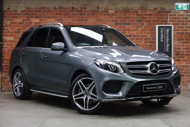 Certified Pre-Owned Mercedes-Benz GLE-Class W166 807MY GLE350 d 9G-Tronic 4MATIC Mulgrave, 2016 Mercedes-Benz GLE-Class W166 807MY GLE350 d 9G-Tronic 4MATIC Selenite Grey 9 Speed