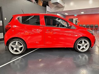 2015 Holden Spark MP MY16 LS Red 1 Speed Constant Variable Hatchback.