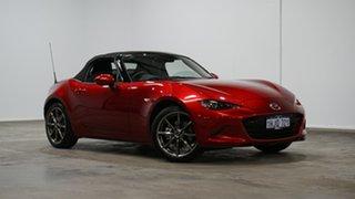 2020 Mazda MX-5 ND GT SKYACTIV-MT Red 6 Speed Manual Roadster.