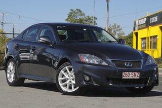 2011 Lexus IS GSE20R MY11 IS250 Prestige Graphite Metallic/black 6 Speed Sports Automatic Sedan.