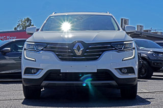 2019 Renault Koleos HZG Intens X-tronic White 1 Speed Constant Variable Wagon.