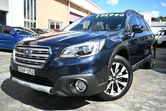 Used Subaru Outback MY14 3.6R Premium Narrabeen, 2015 Subaru Outback MY14 3.6R Premium Blue 5 Speed Auto Elec Sportshift Wagon