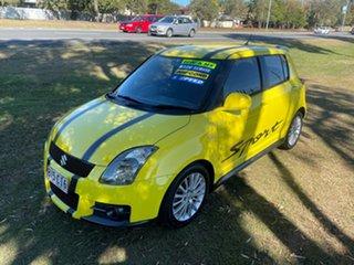 2007 Suzuki Swift RS416 Sport Yellow 5 Speed Manual Hatchback.