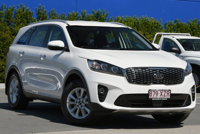 Used Kia Sorento UM MY18 SI Aspley, 2018 Kia Sorento UM MY18 SI White 8 Speed Sports Automatic Wagon