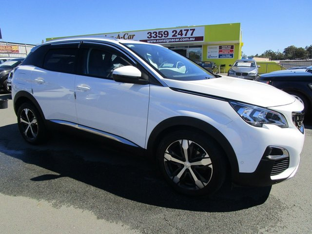 Used Peugeot 3008 P84 MY18 Allure SUV Kedron, 2018 Peugeot 3008 P84 MY18 Allure SUV White 6 Speed Sports Automatic Hatchback