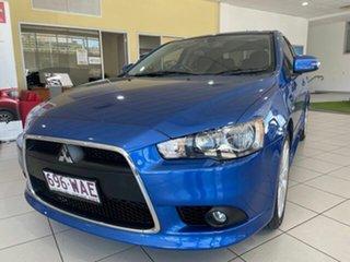 2015 Mitsubishi Lancer CJ MY15 GSR Sportback Blue 6 Speed Constant Variable Hatchback.