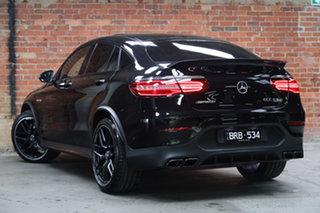 2018 Mercedes-Benz GLC-Class C253 GLC63 AMG Coupe SPEEDSHIFT MCT 4MATIC+ S Black 9 Speed.