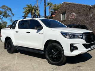 2020 Toyota Hilux GUN126R 4x4 Glacier White 6 Speed Automatic Dual Cab.
