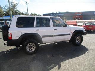 2003 Nissan Patrol GU III DX (4x4) White 4 Speed Automatic Wagon.