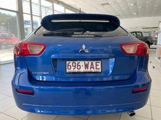 2015 Mitsubishi Lancer CJ MY15 GSR Sportback Blue 6 Speed Constant Variable Hatchback