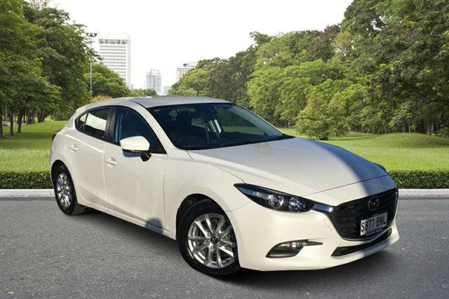 Used Mazda 3 BN5478 Neo SKYACTIV-Drive Paradise, 2016 Mazda 3 BN5478 Neo SKYACTIV-Drive White 6 Speed Sports Automatic Hatchback