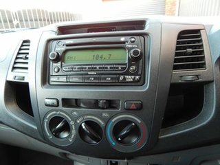 2005 Toyota Hilux GGN15R MY05 SR 4x2 White 5 Speed Manual Utility