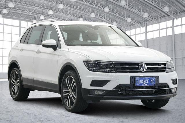 Used Volkswagen Tiguan 5N MY20 162TSI DSG 4MOTION Highline Victoria Park, 2020 Volkswagen Tiguan 5N MY20 162TSI DSG 4MOTION Highline White 7 Speed