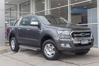2018 Ford Ranger PX MkII 2018.00MY XLT Double Cab Grey 6 Speed Manual Utility