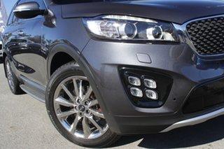 2017 Kia Sorento UM MY18 GT-Line AWD Platinum Graphite/red 8 Speed Sports Automatic Wagon.