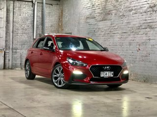 2019 Hyundai i30 PD.3 MY19 N Line D-CT Red 7 Speed Sports Automatic Dual Clutch Hatchback.