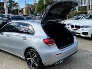 2018 Mercedes-Benz A250 177 MY19 4Matic Limited Edition Silver 7 Speed Auto Dual Clutch Hatchback