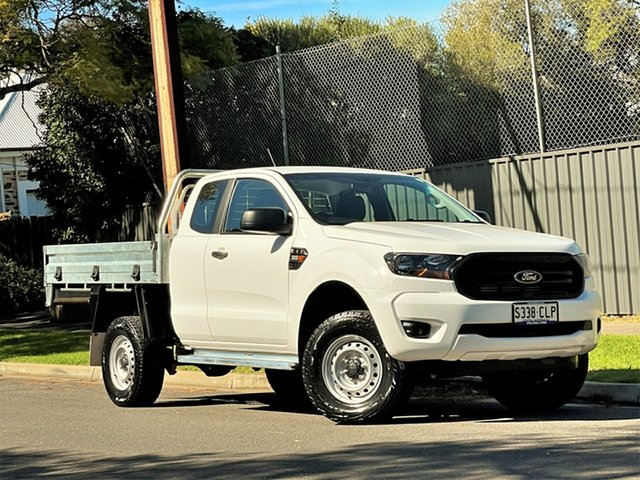 Used Ford Ranger PX MkIII 2019.00MY XL Hyde Park, 2019 Ford Ranger PX MkIII 2019.00MY XL White 6 Speed Manual Single Cab Chassis