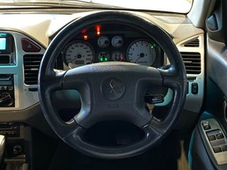 2005 Mitsubishi Pajero NP MY05 Platinum Edition White 5 Speed Sports Automatic Wagon