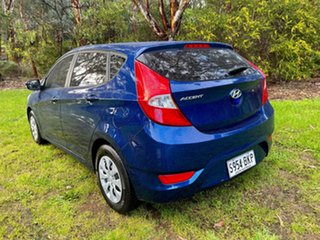 2016 Hyundai Accent RB3 MY16 Active Dazzling Blue 6 Speed Constant Variable Hatchback