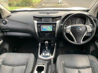 2016 Nissan Navara D23 ST-X White Sports Automatic Utility