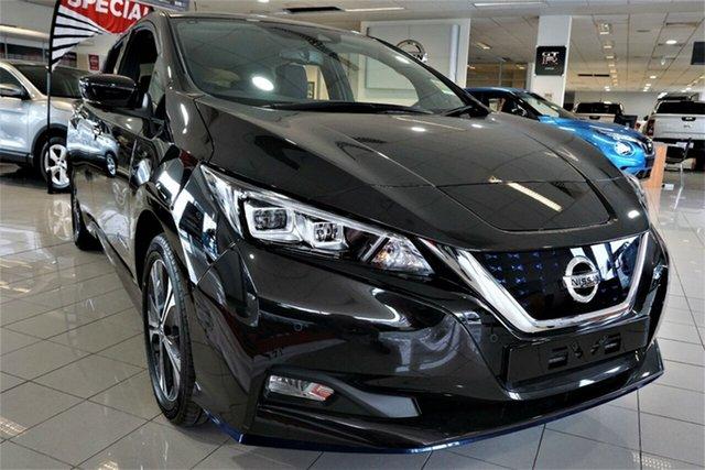 New Nissan Leaf ZE1 e+ Phillip, 2021 Nissan Leaf ZE1 e+ Pearl Black 1 Speed Reduction Gear Hatchback