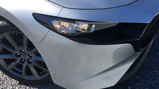 2021 Mazda 3 BP2H7A G20 SKYACTIV-Drive Touring Sonic Silver 6 Speed Sports Automatic Hatchback.