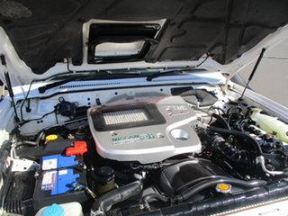 2003 Nissan Patrol GU III DX (4x4) White 4 Speed Automatic Wagon