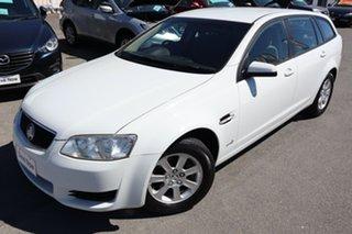 2010 Holden Commodore VE II Omega Sportwagon White 6 Speed Sports Automatic Wagon.