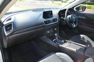 2018 Mazda 3 BN MY17 SP25 GT White 6 Speed Automatic Sedan